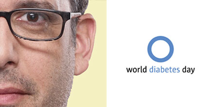 Buzz Bishop & World Diabetes Day