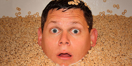 Ted Murphy in Cereal Bathtub